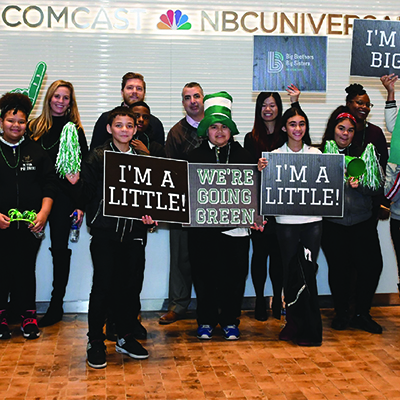 Big Brothers Big Sisters and Comcast NBCUniversal